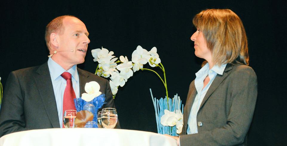 Diskussion am Unternehmertag an der Hochschule Vaduz