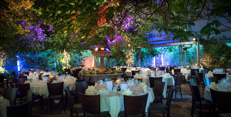Beleuchtungstechnik an der Hochzeit