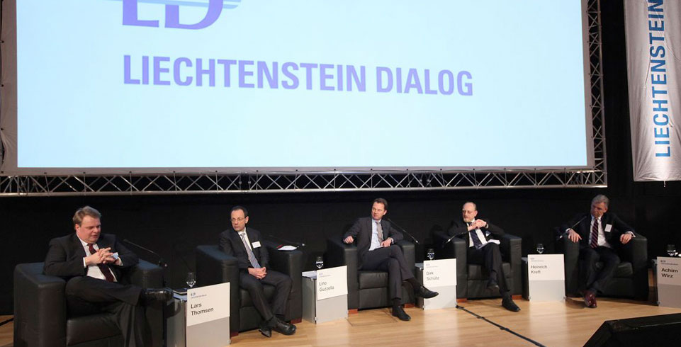 Diskussion beim Liechtenstein Dialog 2013