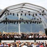 Vaduz Classic Bühne am Tag