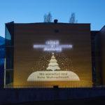 Beleuchtung der Fassade