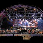Bühne beim Vaduz Classic 2019