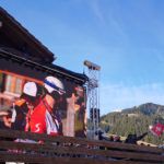 LED Wand beim FIS Ski Worldcup in Adelboden 2020