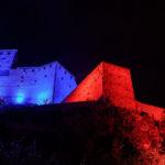 Lichtinszenierung Schloss Gutenberg Balzers