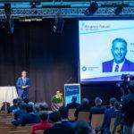 Reto Lipp moderiert am Finance Forum 2020