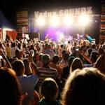 Feiernde Menschen vor der Bühne am VaduzSOUNDZ